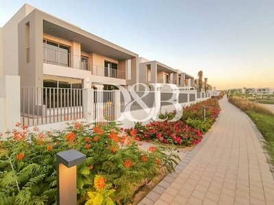 5 Bedroom Villa for Rent in Dubai Hills Estate, Dubai - Single Row Facing Green Patch | Largest Layout E5