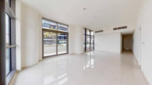 فلیٹ 2 غرفة نوم للايجار في داماك هيلز (أكويا من داماك)، دبي - Kitchen appliances included | Golf view | 1-month free