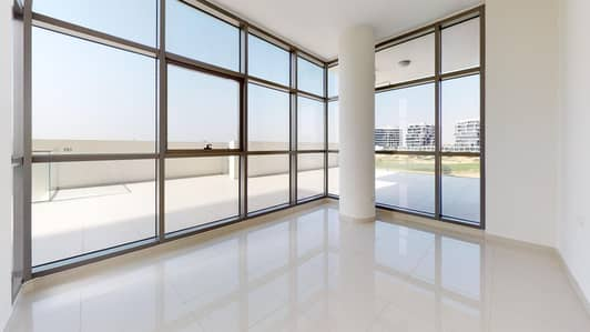 3 Bedroom Flat for Rent in DAMAC Hills (Akoya by DAMAC), Dubai - Huge apartment | Golf view | 1-month free
