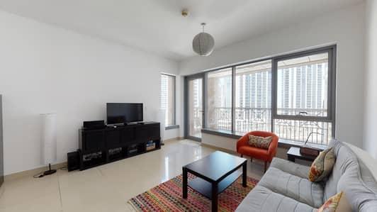 فلیٹ 1 غرفة نوم للايجار في وسط مدينة دبي، دبي - City Views   AC Included   Pay Monthly