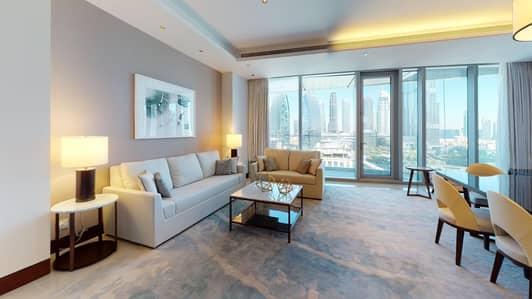 2 Bedroom Hotel Apartment for Rent in Downtown Dubai, Dubai - Burj Khalifa View | Infinity Pool | Rent Online