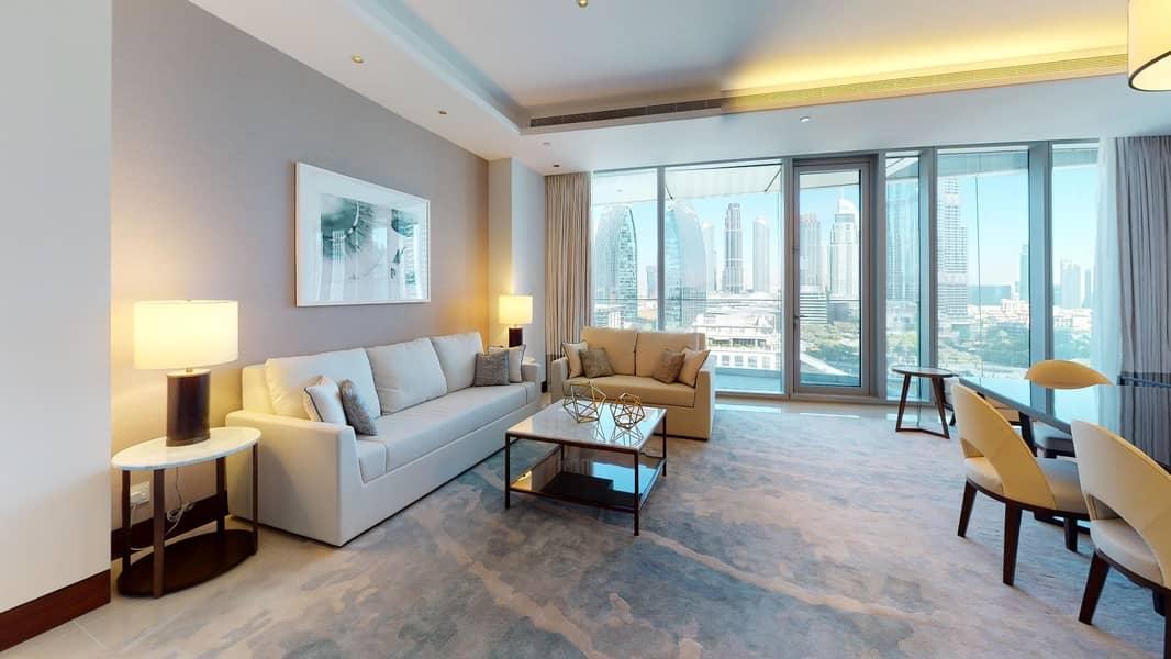 2 Burj Khalifa View | Infinity Pool | Rent Online
