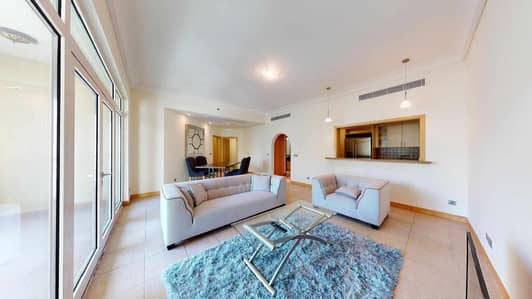 2 Bedroom Flat for Rent in Palm Jumeirah, Dubai - Furnished apartment   Community views   Pay monthly