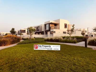 4 Bedroom Villa for Rent in Dubai Hills Estate, Dubai - Corner Facing Park