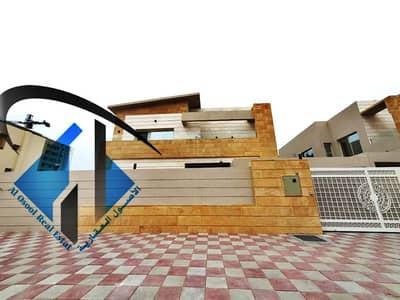للبيع فيلا 5 غرف تصميم بأفضل سعر و تشطيب بعجمان تملك حر لجميع الجنسيات .