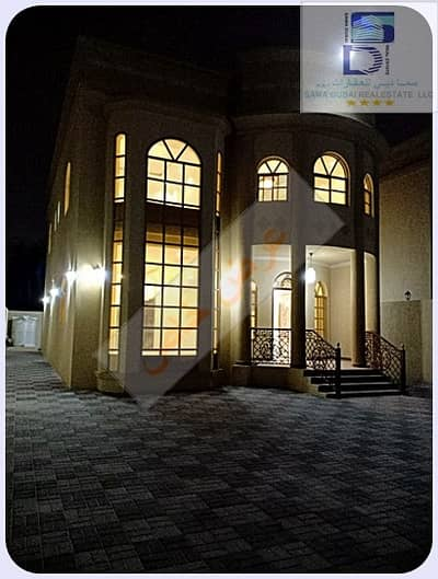 5 Bedroom Villa for Rent in Al Mowaihat, Ajman - Fully stone corner villa opposite the mosque in the finest areas of Ajman (Al Mwaihat 3) for rent for all nationalities