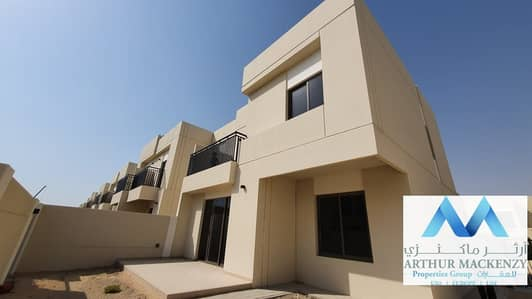 4 Bedroom Townhouse for Rent in Town Square, Dubai - Overlooking Park | Close to Pool |1 Month Grace - Safe Townhouse