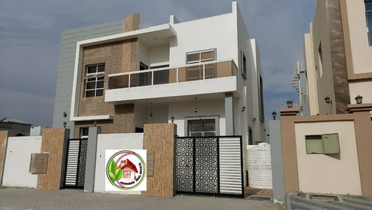 New first villa finishing finishing and excellent price on wide street. Close to Mohamed Bin Zayed Street, all schools, services, markets, and hypermarkets  It consists of two floors: ground floor : 1 master bedroom. Hall. Large board with bathroom. a kit
