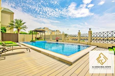6 Bedroom Villa for Sale in Dubailand, Dubai - Private pool | Upgraded 6BR+M | Driver's quarter