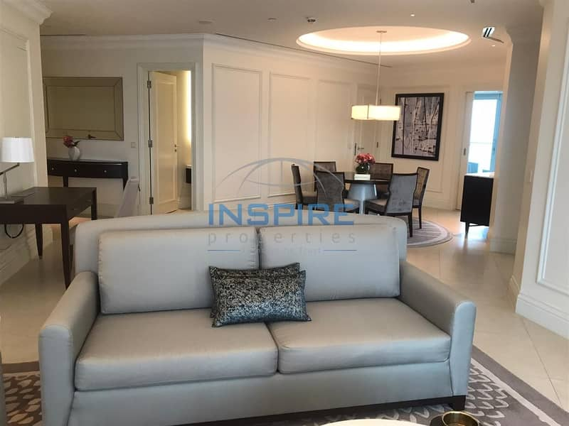 20 Fully furnished and serviced 2BR in Address Boulevard @ 240k