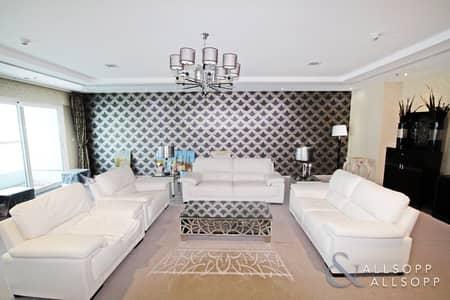 4 Bedroom Penthouse for Rent in Dubai Marina, Dubai - Four Bedroom Penthouse | Elite Residence