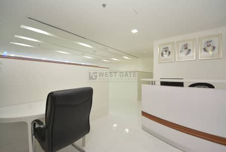 Office for Sale in Business Bay, Dubai - F. Fitted | Partitions | 3 Parking Spaces