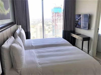 فلیٹ 2 غرفة نوم للايجار في وسط مدينة دبي، دبي - Mid Floor |Luxuriously Furnished| Downtown View