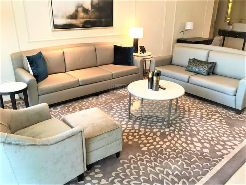 2 Mid Floor  Luxuriously Furnished  Downtown View