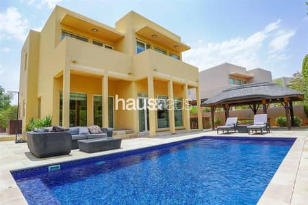3 Bedroom Villa for Sale in Arabian Ranches, Dubai - Exceptional Home | Upgraded | Park Backing