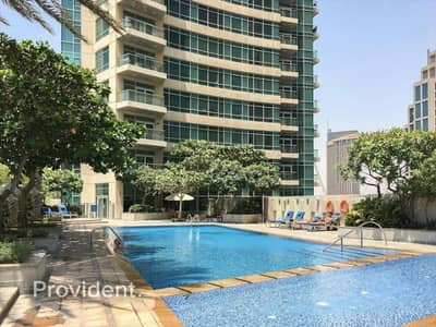 1 Bedroom Flat for Rent in Downtown Dubai, Dubai - Corner Unit on Low Floor | Vacant from 1st June