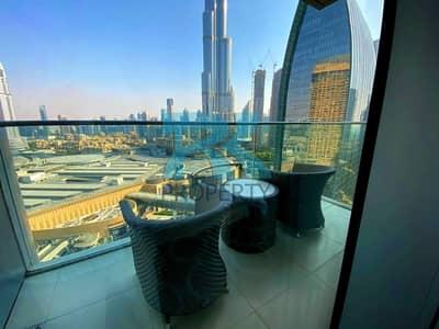 2 Bedroom Apartment for Rent in Downtown Dubai, Dubai - Largest 2-bedroom. Full Burj View