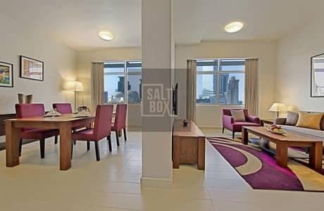 1 Bedroom Hotel Apartment for Rent in Sheikh Zayed Road, Dubai - 0% Commission | NO Security Deposit | Totally Furnished | Free Bills