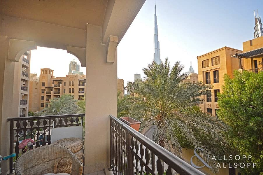 Two Beds | Dining | Vacant  | Burj Views