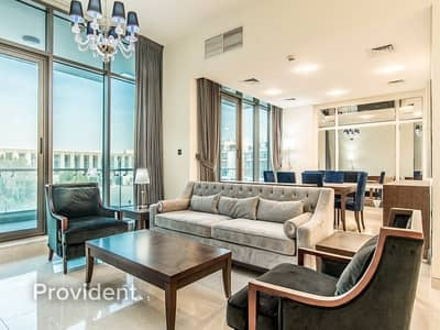 3 Bedroom Flat for Rent in Meydan City, Dubai - Luxurious fully furnished | Ready to move in