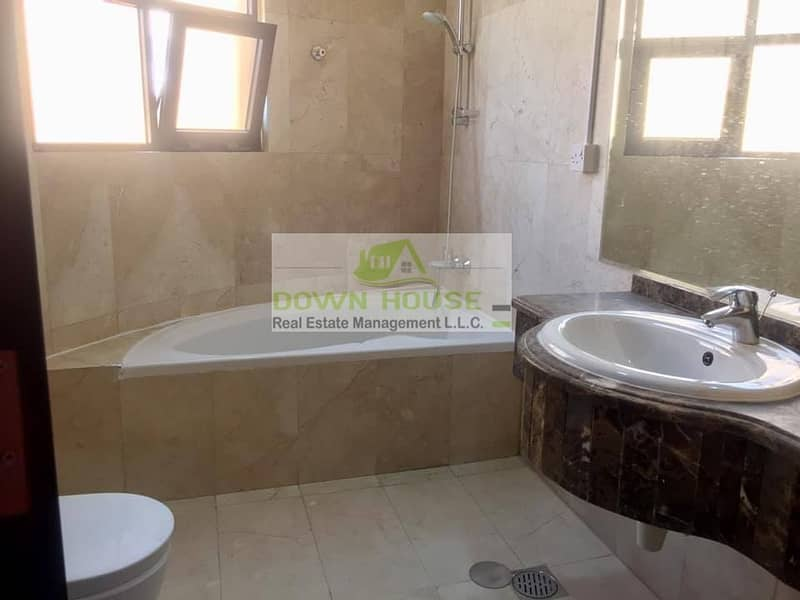 12 Huge 1- bedroom hall with balcony in Khlifa city A .