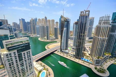 2 Bedroom Apartment for Sale in Dubai Marina, Dubai - Exclusive | Upgraded | Full Marina Views