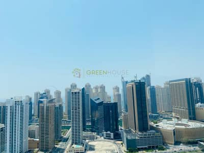 Office for Rent in Jumeirah Lake Towers (JLT), Dubai - Furnished Office | High Floor | Lake View | HDS Tower | JLT