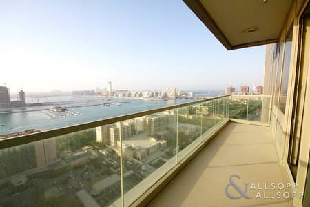 3 Bedroom Flat for Rent in Dubai Marina, Dubai - Upgraded | Walk in Closet | Full Sea View