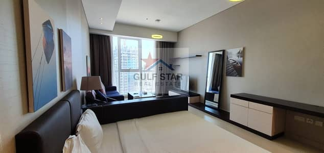 Studio for Rent in Corniche Area, Abu Dhabi - Fully Furnished Studio with Free ADDC and Full Facilities