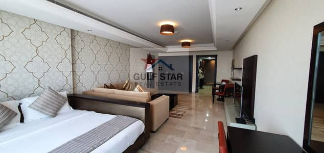 Studio for Rent in Corniche Area, Abu Dhabi - High End Fully Furnished Studio - New Tower