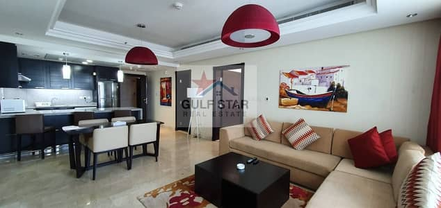1 Bedroom Flat for Rent in Corniche Area, Abu Dhabi - Fully Furnished 1 Bedroom with Huge Balcony