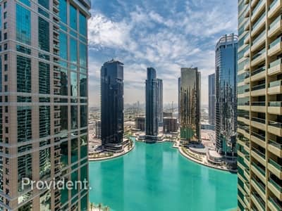 2 Bedroom Apartment for Sale in Jumeirah Lake Towers (JLT), Dubai - Spectacular Lake Views | Exclusive and Huge unit