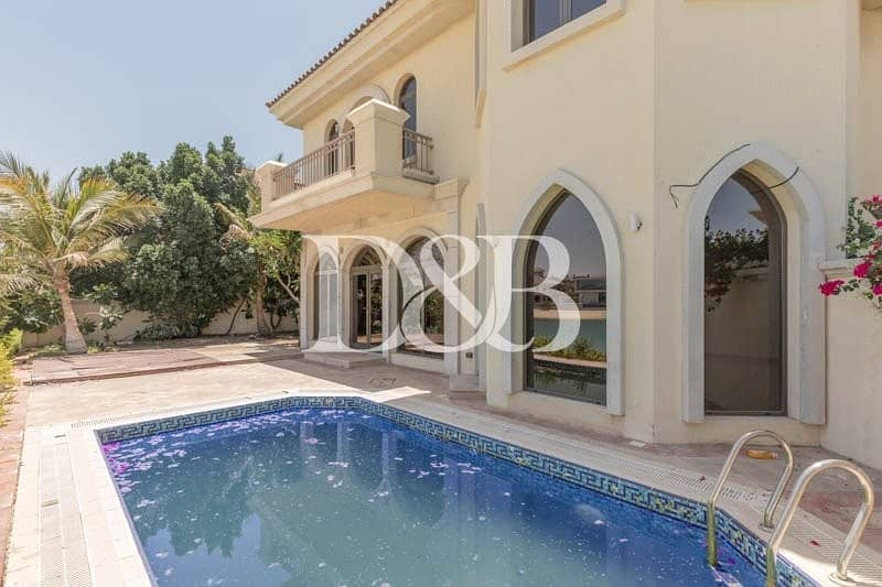 10 5 BR Atrium Entry Garden Home | Stunning Sea View