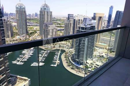 2 Bedroom Apartment for Rent in Dubai Marina, Dubai - Stunning Sea View | Brand New 2 Beds Unit