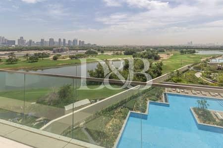 فلیٹ 3 غرف نوم للايجار في التلال، دبي - Vacant | Full Golf Course View | Chiller Free