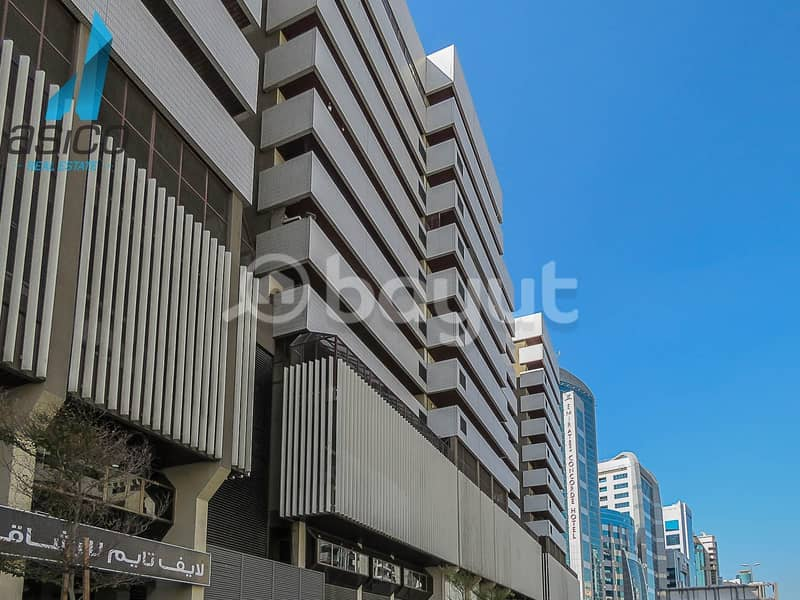 13 Spacious fitted  office space w/ FREE DEWA for rent near Clock Tower Deira