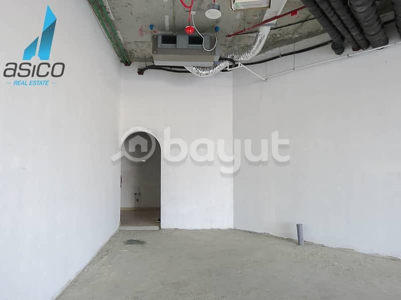 2 Brand New Shell and Core Shop Space Available for rent in Al Jaddaf