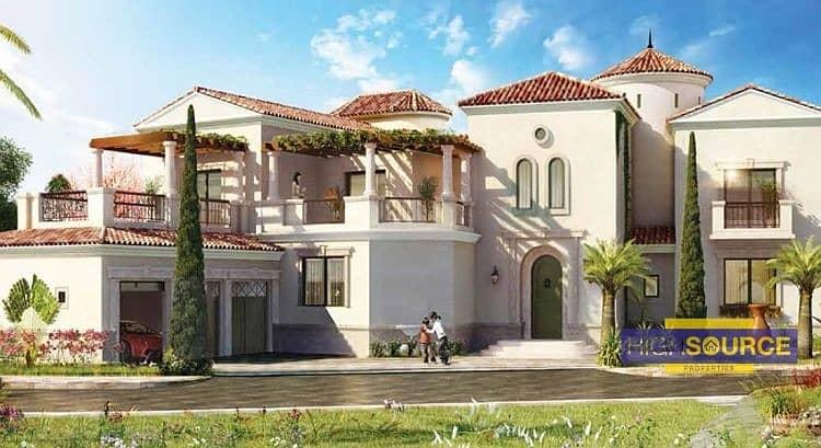 2 Cash Deal AED 4.62M | Spanish Style Luxury Villas.