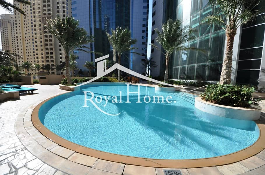 10 AC FREE 2BR | Marina and Sea view | New furniture
