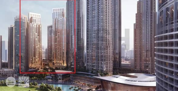2 Bedroom Flat for Sale in Downtown Dubai, Dubai - Pay 50% 3 years after Handover 2% DLD Waiver