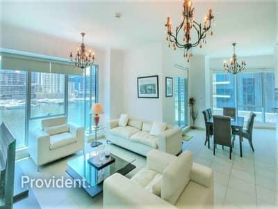 فلیٹ 2 غرفة نوم للبيع في دبي مارينا، دبي - The Most Sought After View in Marina Promenade