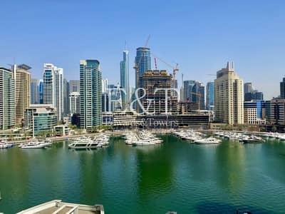 فلیٹ 2 غرفة نوم للبيع في دبي مارينا، دبي - Full Marina View | Fully Furnished | Middle Floor