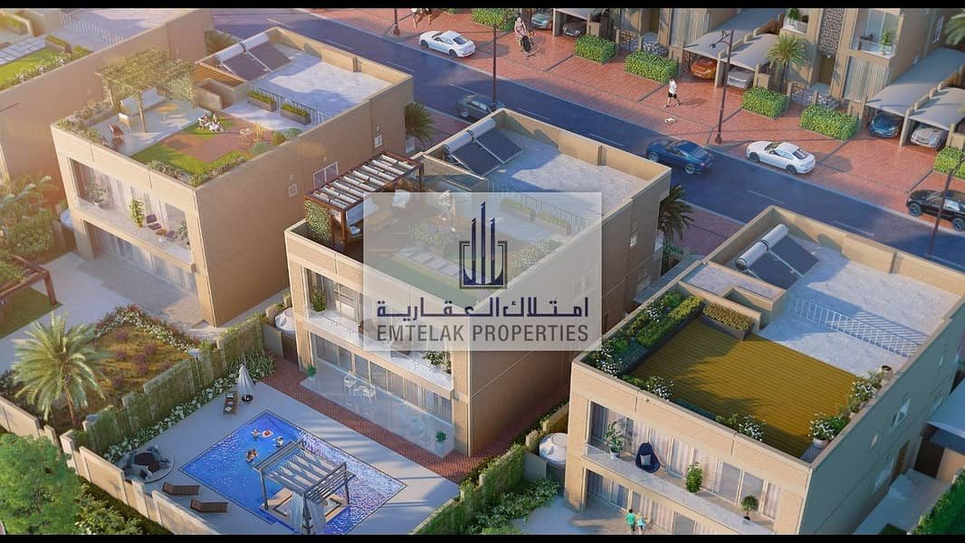 Single villas for sales installments over 25 yrs for ,,Emirates nationality only