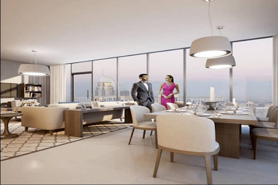 Spacious 1 BHK | Direct on The Boulevard