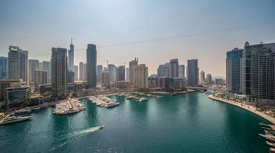 2 Bedroom Apartment for Sale in Dubai Marina, Dubai - Spacious Upgraded 2 Bedroom + Maid I Marina View I Chiller Free