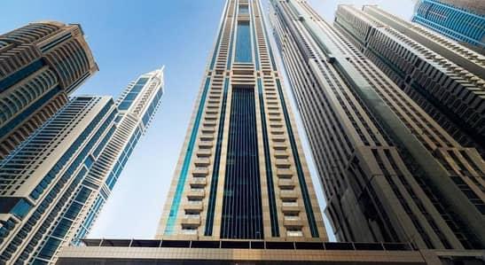 شقة 1 غرفة نوم للايجار في دبي مارينا، دبي - شقة في برج سلافة دبي مارينا 1 غرف 55000 درهم - 4609078