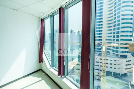 Office for Rent in Business Bay, Dubai - Fitted Office | Low Floor | Pantry | Parking