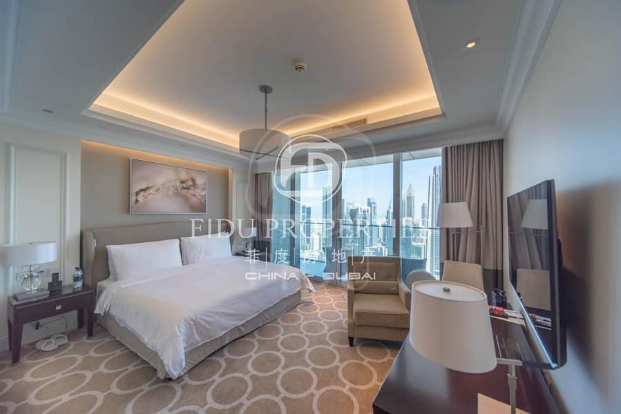 Luxurious Apartment   High Floor   Furnished