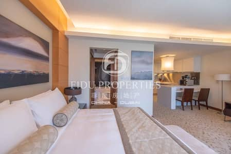 Studio for Rent in Downtown Dubai, Dubai - Fully Furnished and Serviced Studio Mid Floor