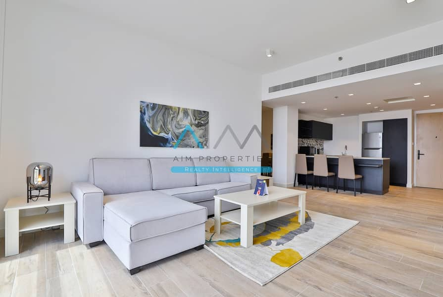 1 Month free | Fully Furnished 2 Bedroom Wd Maid | Brand New | Jaddaf